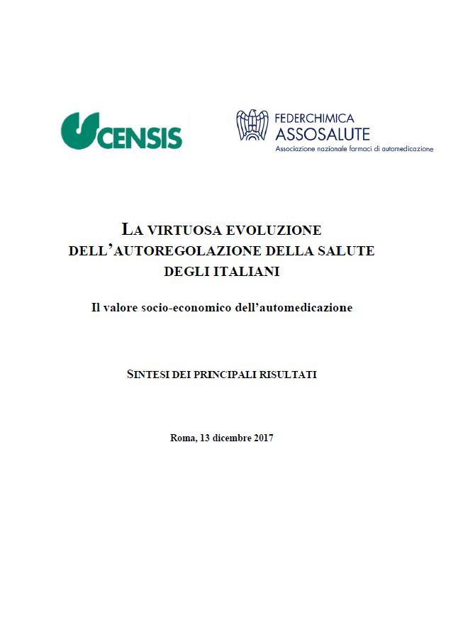 La virtuosa evoluzione dell'autoregolazione della salute degli italiani